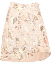 Zimmermann | Bowerbird Floral-printed Linen Skirt | Lyst