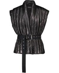 Isabel Marant Ajali Leather Jacket - Black