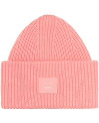 Acne Studios - Pansy S Face Wool Beanie - Lyst