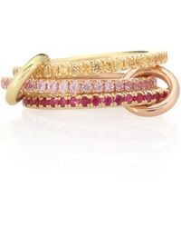 Spinelli Kilcollin - Aurora Mx 18kt Yellow And Rose Gold Ring - Lyst