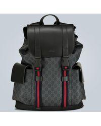 Gucci GG Backpack - Black