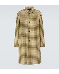 Marni Manteau en laine vierge à carreaux - Multicolore