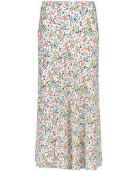 Polo Ralph Lauren Jupe midi à fleurs - Multicolore
