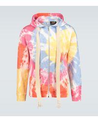 Loewe Paula's Ibiza Tie-dye Zipped Sweatshirt - Multicolor