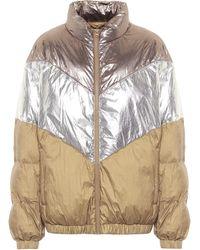 Étoile Isabel Marant Kristeno Metallic Puffer Jacket