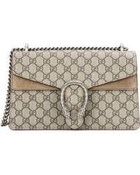 Gucci Dionysus Medium Shoulder Bag - Natural
