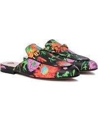 Gucci X Ken Scott Slippers Princetown - Pink