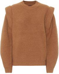 Isabel Marant Jody Cashmere And Wool Jumper - Multicolour