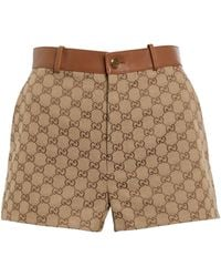 Gucci Shorts aus GG Supreme Canvas - Mehrfarbig