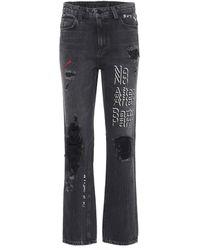 Alexander Wang High-waisted Jeans - Gray