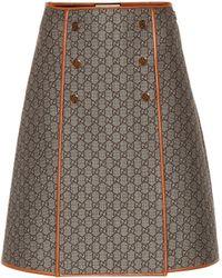 Comprar Faldas por la rodilla Gucci de mujer 95c805e0c1d