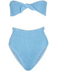 Hunza G Exclusive To Mytheresa – Hayley Bikini - Blue
