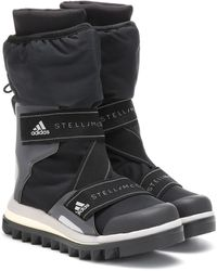 adidas By Stella McCartney Logo-detailed Nylon Winter Boots - Black