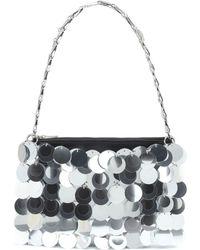 Paco Rabanne Sparkle 69 Sequined Shoulder Bag - Metallic