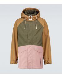 JW Anderson Jwa Puller Colorblocked Parka Jacket - Multicolour