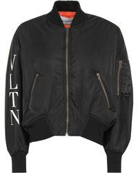 Valentino - Bomber estampada - Lyst