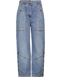 Ulla Johnson Harris High-rise Stretch-cotton Jeans - Blue