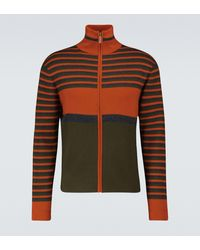 Wales Bonner Sweatshirt aus Stretch-Wolle - Orange