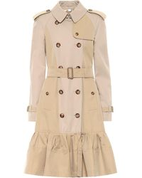 Burberry Trench Clayhall in cotone - Neutro