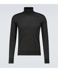 The Row - Emile Wool And Silk Turtleneck - Lyst
