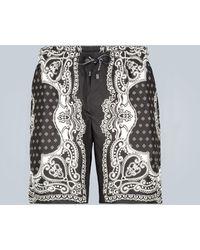 Dolce & Gabbana Bañador estampado - Negro