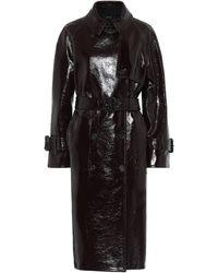 JOSEPH Coated Wool Felt Coat - Black