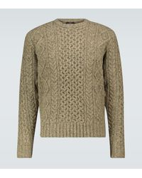 RRL Pullover Donegal aus Wolle - Mehrfarbig