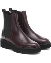Tod's Chelsea Boots aus Leder - Mehrfarbig