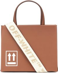 Off-White c/o Virgil Abloh - Mini Box Leather Shoulder Bag - Lyst
