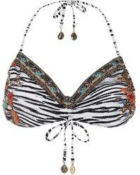 Camilla Printed Bikini Top - Multicolor