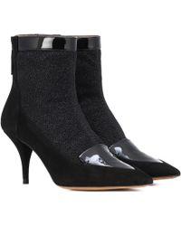 Tabitha Simmons - Ankle Boots Alana mit Veloursleder - Lyst