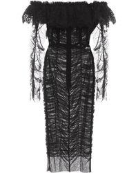 Dolce & Gabbana - Tulle Dress - Lyst