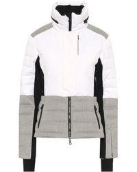 Erin Snow Sari Wool-trimmed Ski Jacket - Multicolour