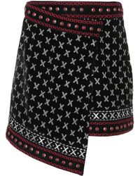 Dodo Bar Or - Embroidered Miniskirt - Lyst