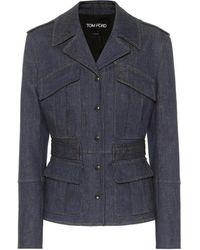Tom Ford Denim Jacket - Blue