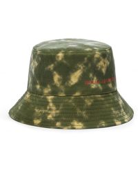 Ruslan Baginskiy Sombrero de pescador con tie-dye - Verde