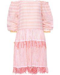 lemlem - Off-the-shoulder Cotton Dress - Lyst