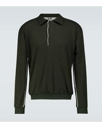 GR10K Double Face Knitted Polo - Green