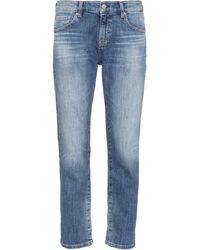 AG Jeans High-Rise Jeans The Ex-Boyfriend - Blau