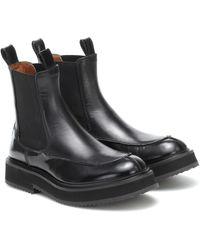 JOSEPH Leather Chelsea Boots - Black