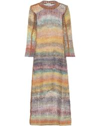 Acne Studios - Losse Mohair And Alpaca-blend Dress - Lyst