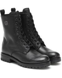 Bogner New Meribel Leather Ankle Boots - Black