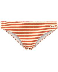 Solid & Striped Slip bikini Elle a righe - Multicolore