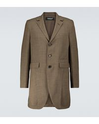 Undercover Single-breasted Overcoat - Natural