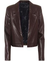 RTA Wynn Leather Blazer - Multicolour