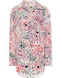 Marni Bedrucktes Hemd aus Baumwolle - Pink