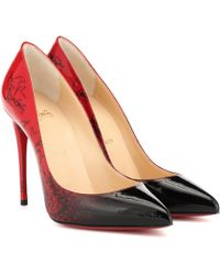 Christian Louboutin Exclusive To Mytheresa – Pigalle Follies 100 Patent Leather Pumps - Red