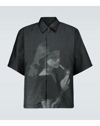 Undercover Cindy Sherman Printed Overshirt - Black
