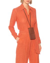 Gabriela Hearst Cardi Leather Crossbody Bag - Multicolour