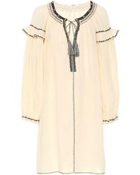 Étoile Isabel Marant Kleid mit lockerem Schnitt - Natur